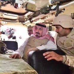 أمير منطقة نجران يهنئ رجال الحرس الوطني المرابطين على الحدود بعيد الفطر المبارك