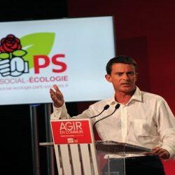 رئيس الوزراء الفرنسي السابق مانويل فالس يغادر الحزب الاشتراكي
