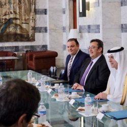 وزير الخارجية الإيطالي يستقبل الأستاذ عادل بن أحمد الجبير