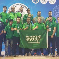 نواف المزيدي يفتتح مشوار الذهب للمنتخب السعودي المشارك في البطولة الآسيوية للناشئين