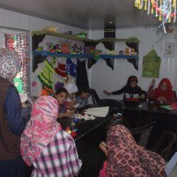 المركز السعودي للتعليم يستمر بتقديم المهارات الحرفية والمهنية للاشقاء السوريين