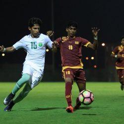 المنتخب السعودي للناشئين يكسب سريلانكا بـ١٠ أهداف