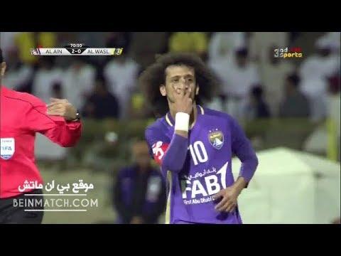 شاهد أهداف مباراة الوصل والعين فى الدورى الإماراتى