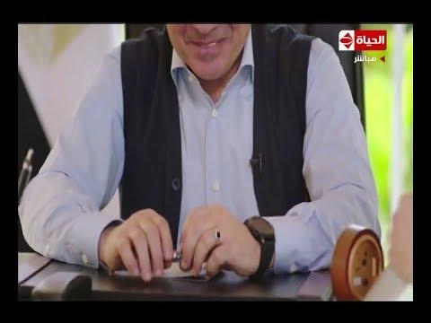 بالفيديو الرئيس المصرى يوضح  سر الخاتم الذى لا يفارق يده أبدا