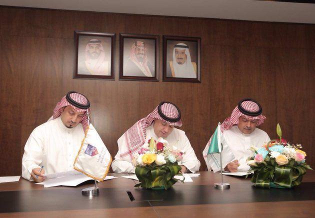 إدارة نادي الاتحاد تحضر مراسم توقيع اتفاقية مشاركة الأندية الممثلة للكرة السعودية في بطولة الأندية العربية المقبلة