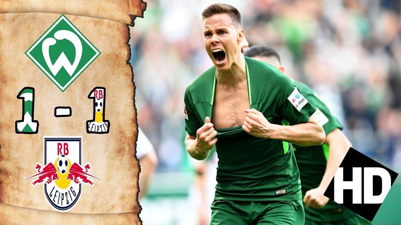 بالفيديو تعادل 1-1 بين لايزبيرج وفيردر بريمن فى الدورى الألمانى