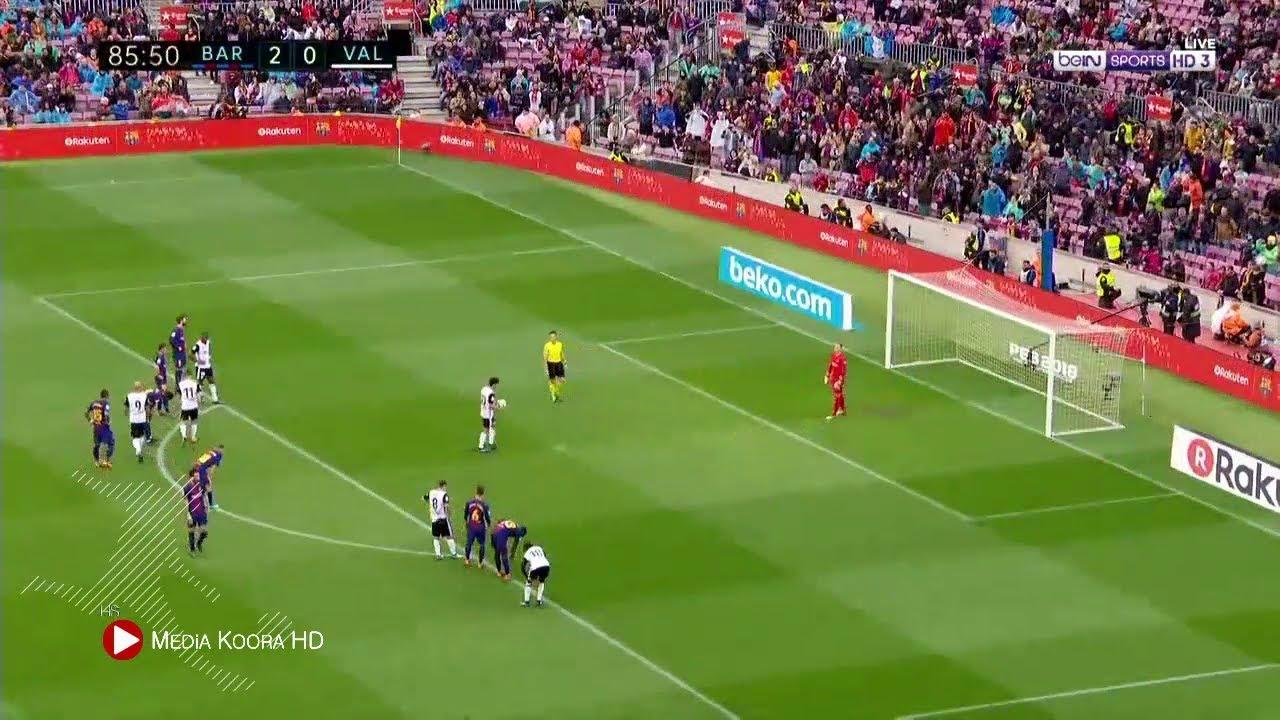 برشلونة 2 فالنسيا 1 فى الدورى الأسبانى… شاهد