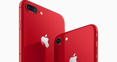 بالصور شاهدiPhone 8وiPhone 8 Plusباللون الأحمر