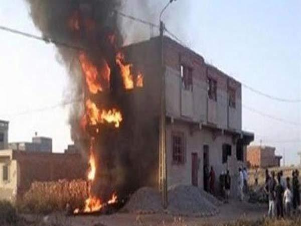 ابن عاق ينتقم من والده رفض إعطاءه مصروفاً فعاقبه بإشعال النيران في المنزل