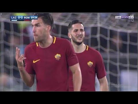 بالفيديو أهم لقطات مباراة روما ولاتسيو فى الدورى الإيطالى