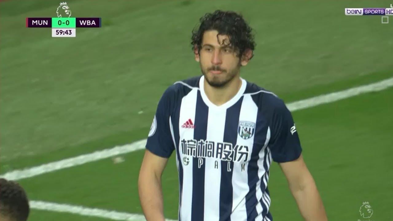 بالفيديو شاهد تألق أحمد حجازى فى فوز ويست بروميتش على مانشستر يونايتيد