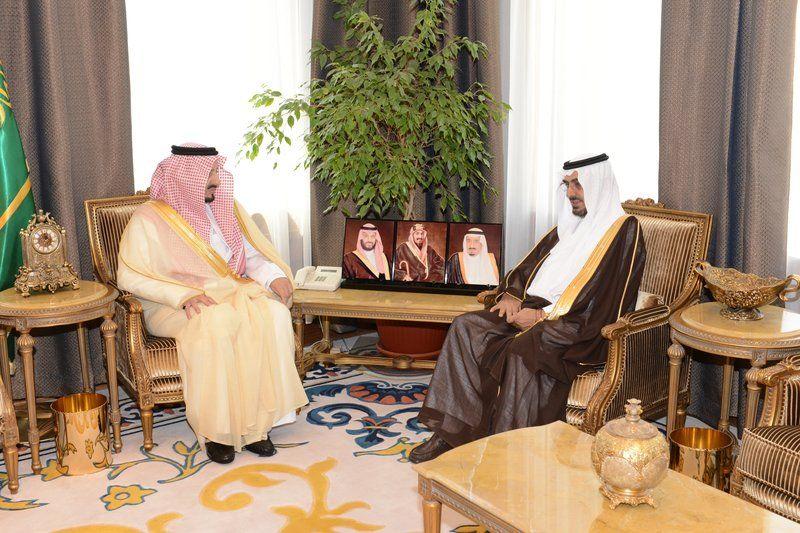 الأمير فيصل بن خالد يستقبل مدير جامعة شقراء