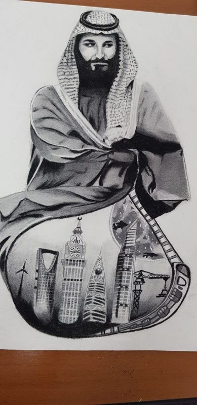 الدكتورة هيا العواد تشهد ختام تصفيات أولمبياد الرسم والتصوير بعسير
