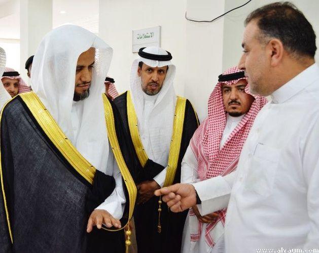 الشيخ سعود بن عبدالله يتفقد مقرات النيابة فى رأس تنورة والجبيل والخفجى