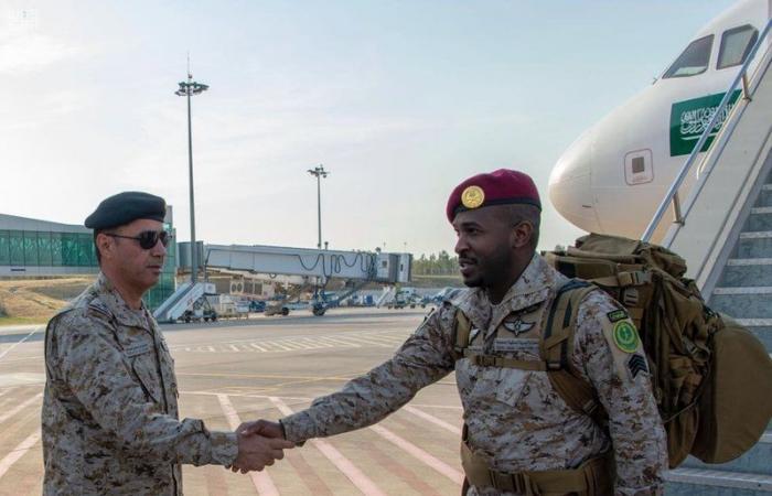 القوات السعودية تصل الي تركيا للمشاركة في تمرين EFES 2018