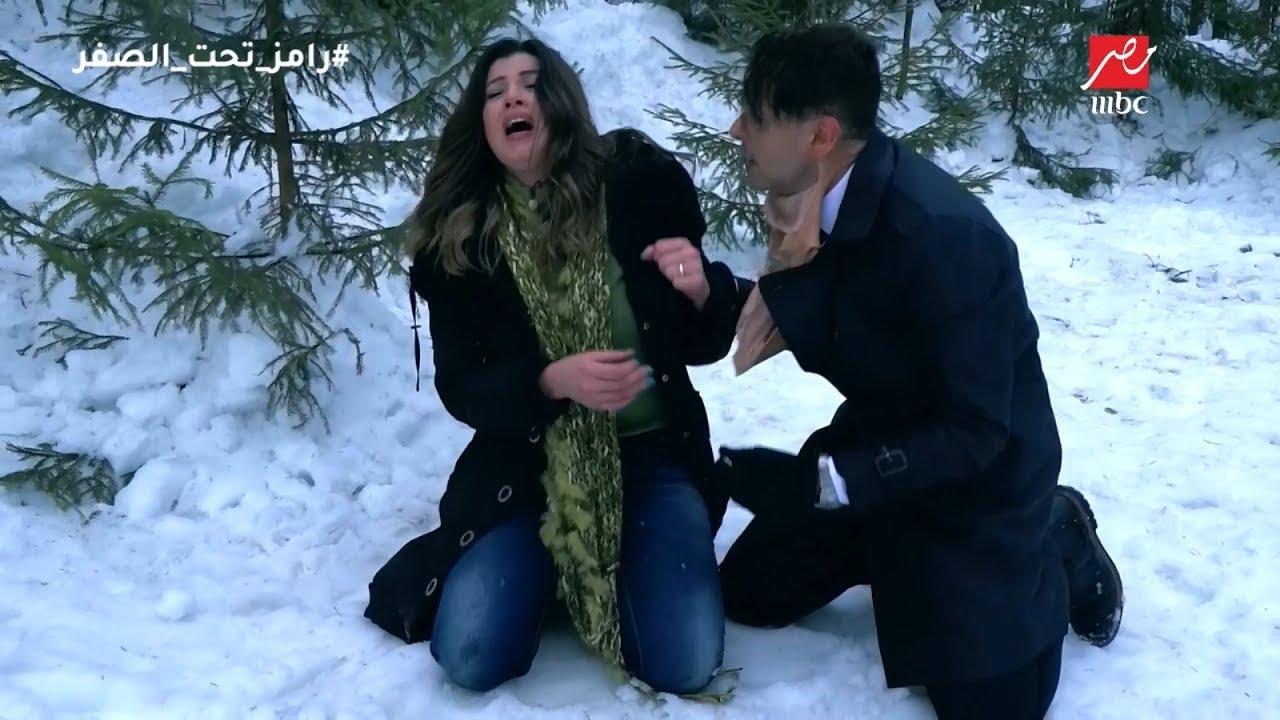 بالفيديو شاهد ماحدث لرانيا فريد شوقى بعد مقلب رامز جلال