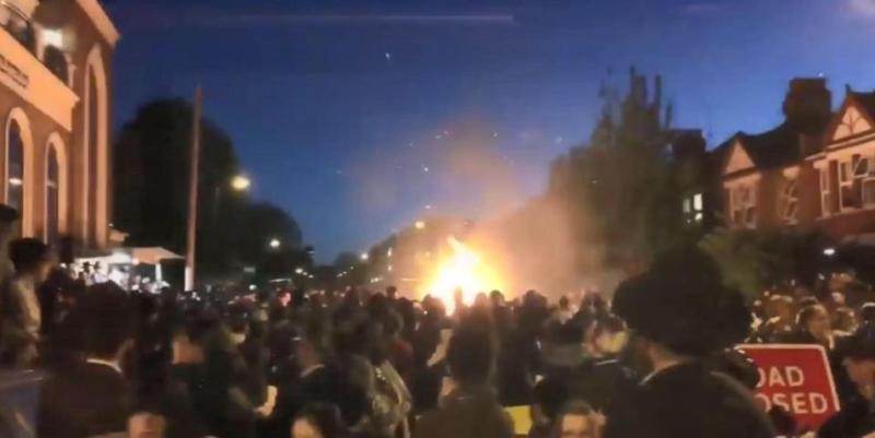 انفجار خلال حفل يهودي شمالي لندن يسفر عن إصابة 30 شخصا