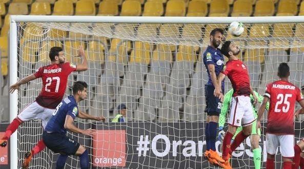 الفريق الأول لكرة القدم في النادي الأهلي يهدر فوزا ثمينا على الترجي التونسي