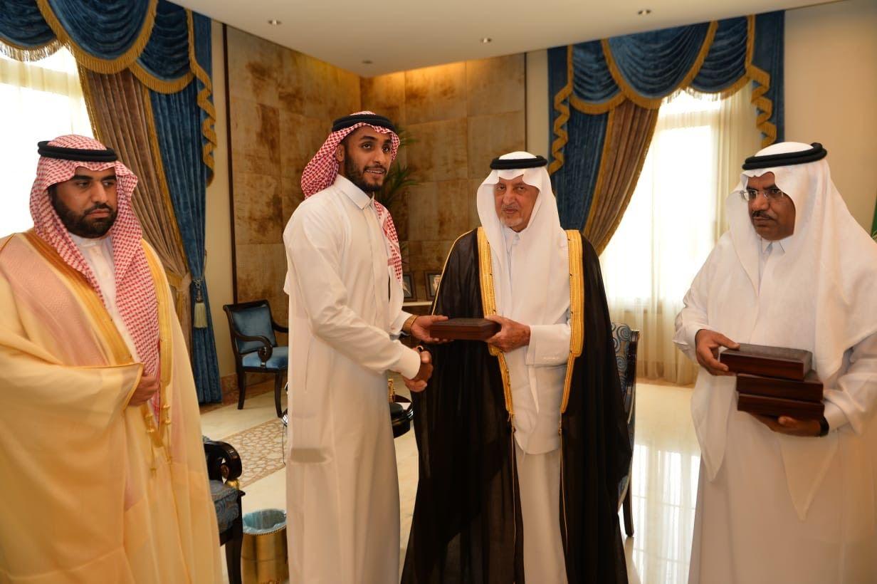 الأمير خالد الفيصل يستقبل رئيس ولاعبي نادي الاتحاد