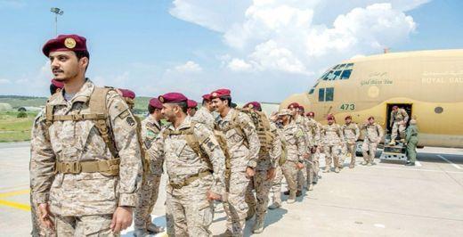 القوات السعودية المشاركة في تمرين EFES 2018 تصل الي تركيا