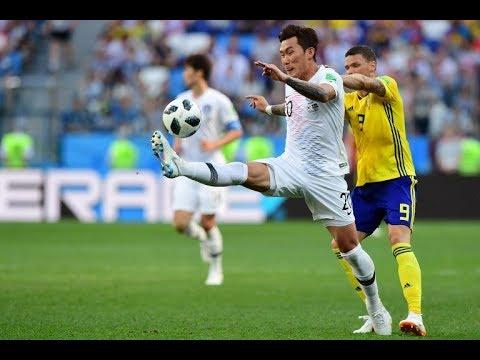 هنا روسيا 2018 شاهد ملخص  مباراة السويد وكوريا الجنوبية