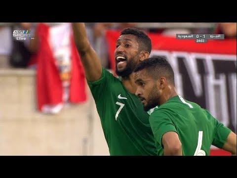 بالفيديو شاهد أهم لقطات مباراة الأخضر وبيرو الودية فى إطار الإستعداد لكأس العالم