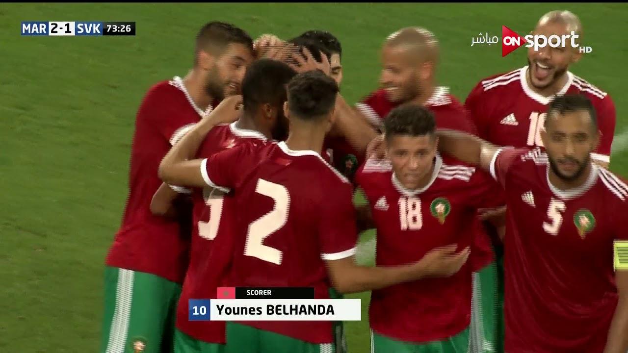 المغرب يفوز على سلوفاكيا ضمن الإستعداد لكأس العالم… شاهد