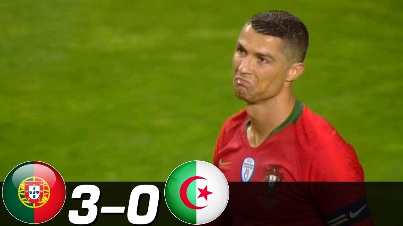البرتغال تهزم الجزائر إستعداد للمونديال … شاهد