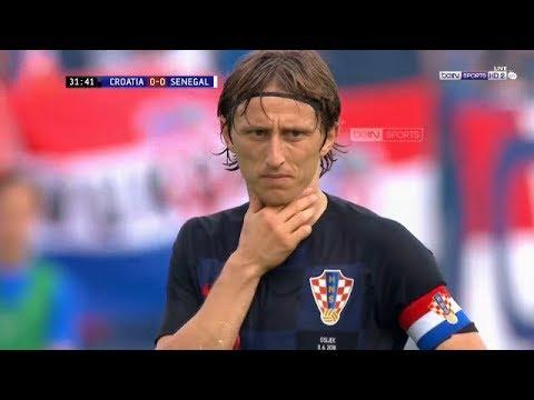شاهد أهم لقطات كرواتيا والسنغال إستعدادا لكأس العالم