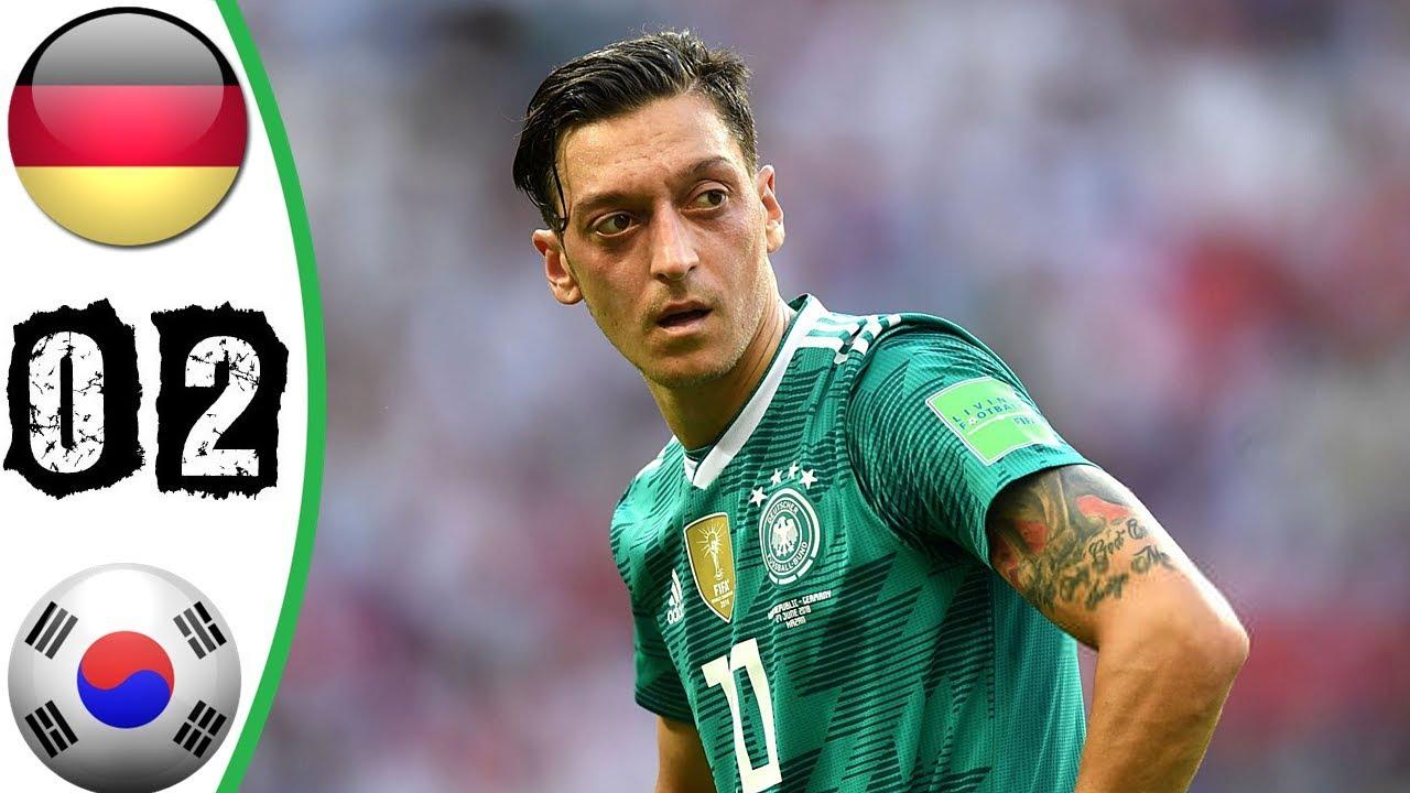شاهد ملخص الخروج الحزين للألمان أمام كوريا الجنوبية فى روسيا 2018