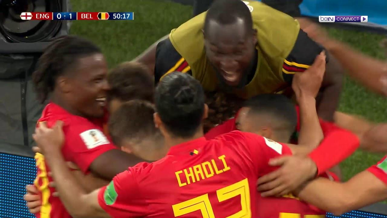 بالفيديو هدف فوز بلجيكا على إنجلترا فى روسيا 2018