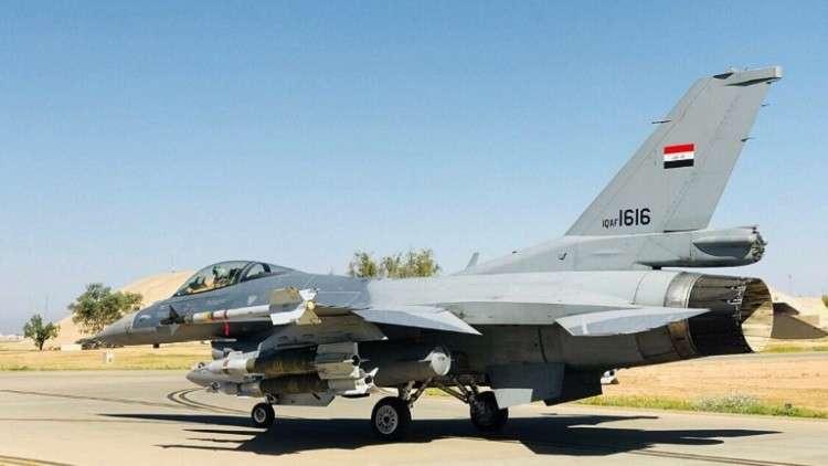 الطائرات الحربية العراقية تستهدف اجتماعا لقيادات داعش فى سوريا وتقتل 45