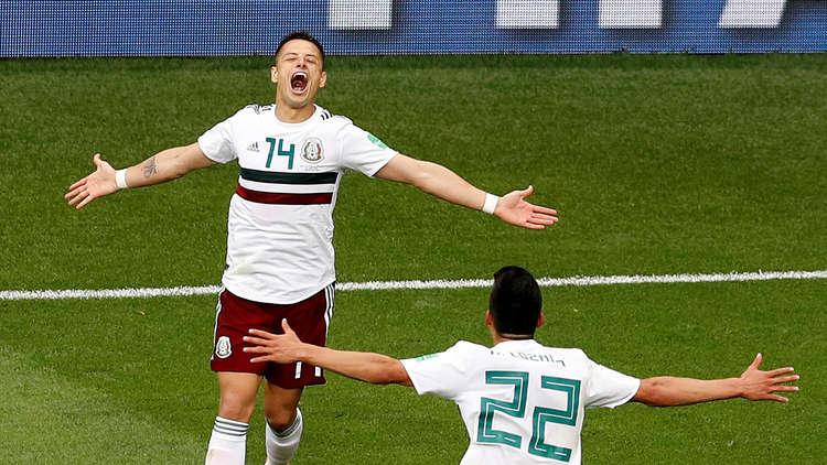 المكسيك يتأهل للدور الثانى من مونديال 2018 بعد الفوز على كوريا الجنوبية