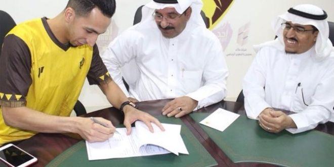 نجم الفريق الأول لكرة القدم بنادي الفيصلي أولى صفقات أُحد
