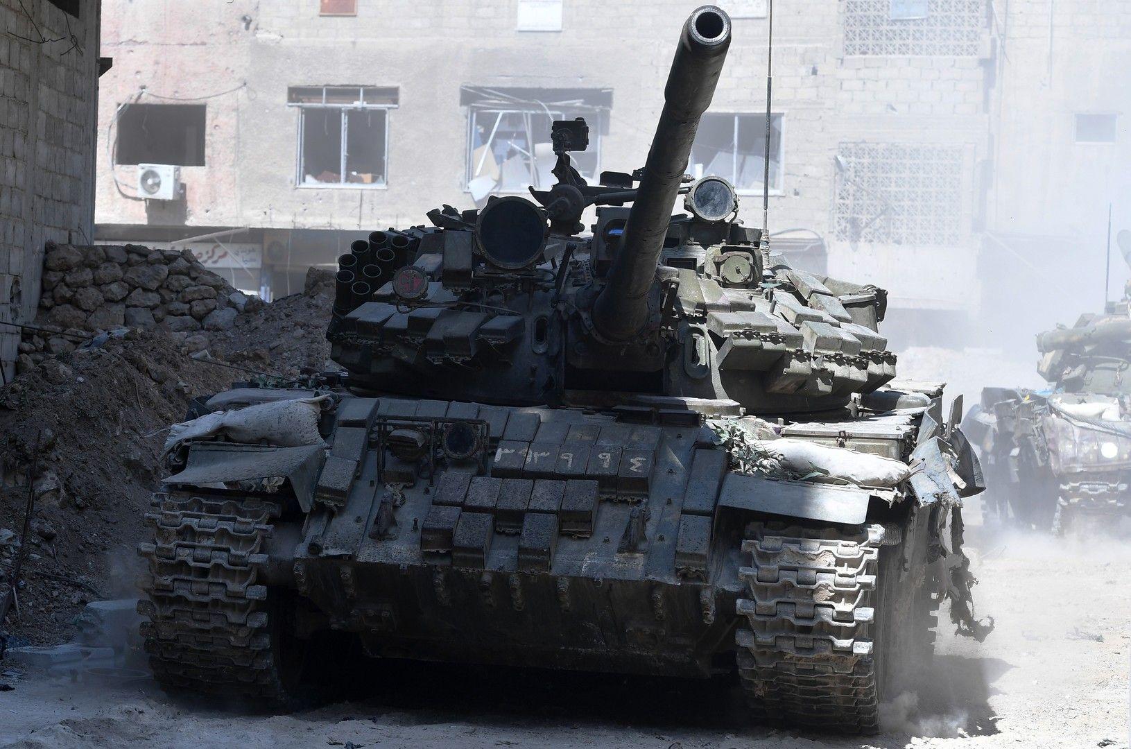 الجيش السوري يستعيد سيطرته على مدينة الحراك وبعض البلدات في ريف محافظة درعا الشمالي الشرقي جنوب سوريا