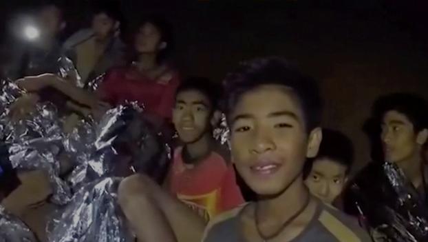 وصول إجمالى الأطفال المنقوذين من كهف تايلاند لعشرة