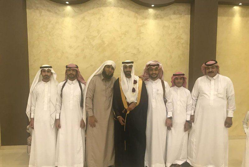 الشاب خالد بن محمد يحتفل بزواجه في جازان