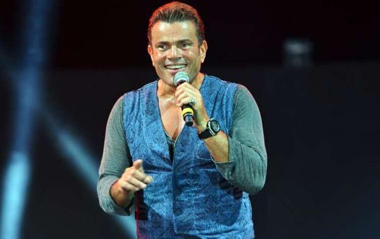 النجم عمرو دياب يطرح  ألبومه الجديد «عيني عليه» بداية أغسطس المقبل