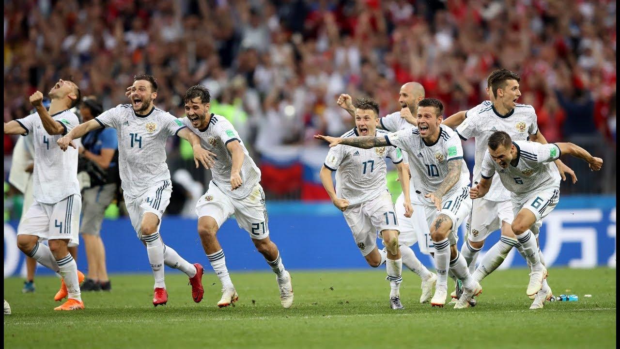 شاهد أهداف وركلات ترجيح مباراة روسيا وأسبانيا فى المونديال