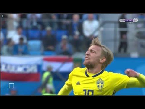 شاهد هدف السويد فى مرمى سويسرا وتأهلها لدور الثمانية فى مونديال 2018