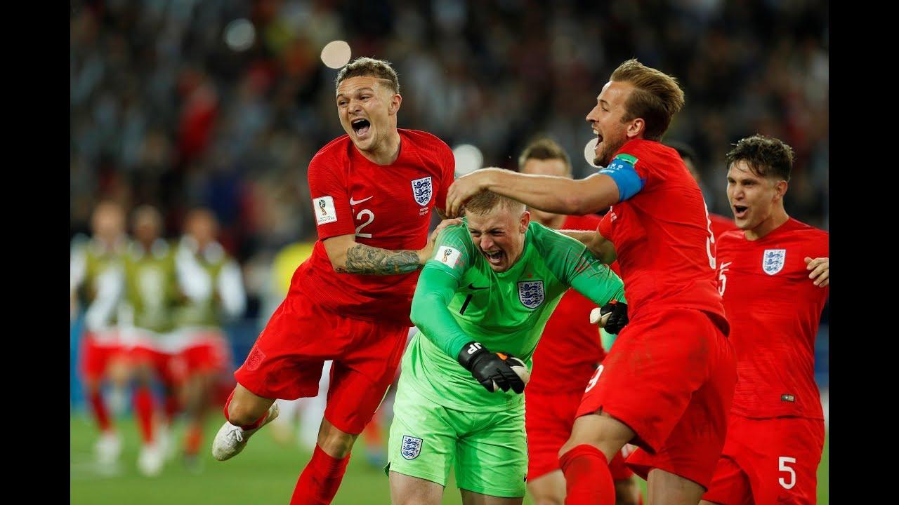 شاهد أهداف مباراة إنجلترا و كولومبيا فى روسيا 2018