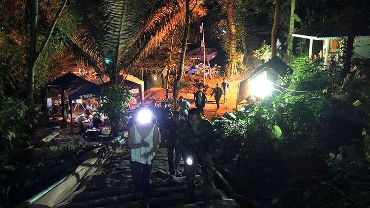 إنتهاء عملية إنقاذ أطفال الكهف فى تايلاند بنجاح