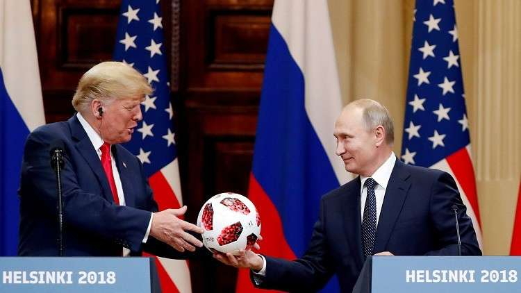 مشروع قانون أمريكى بحظر عقد لقاءات منفردة بين ترامب و بوتين