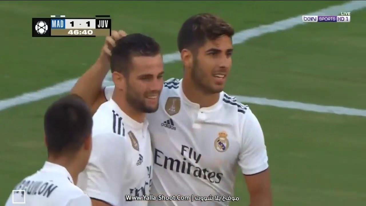 بالفيديو شاهد ملخص مباراة ريال مدريد واليوفى فى كأس الأبطال الودية