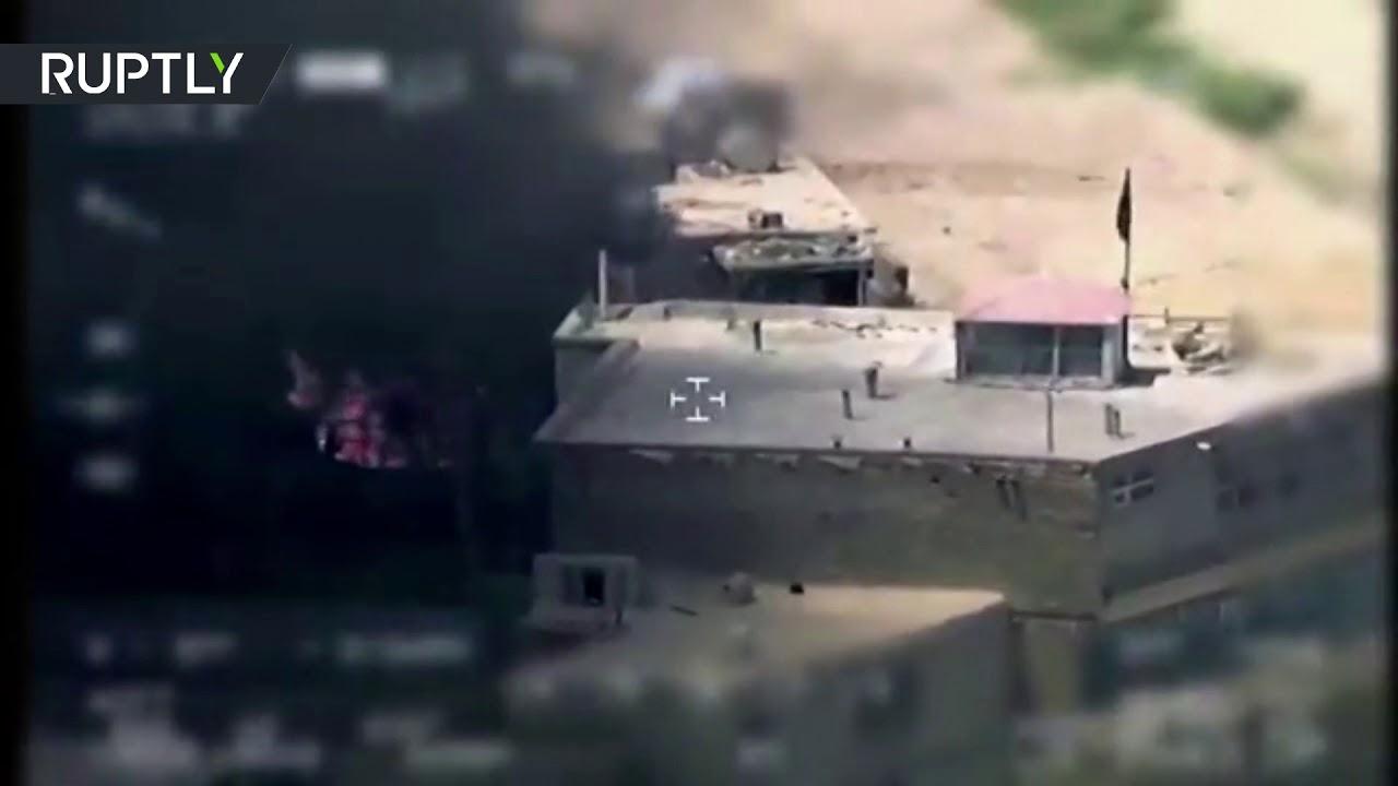 بالفيديو معركة بين القوات الحكومية وطالبان فى محيط القصر الجمهورى