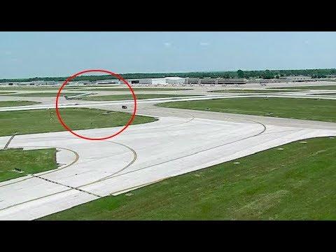 شاهد طيار يتجنب كارثة فى لحظات قليلة