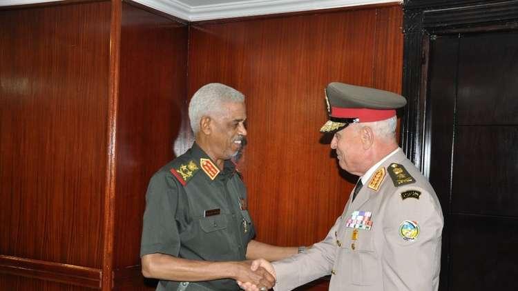 رئيس أركان القوات المسلحة المصرية: أمن مصر والسودان لا ينفصل