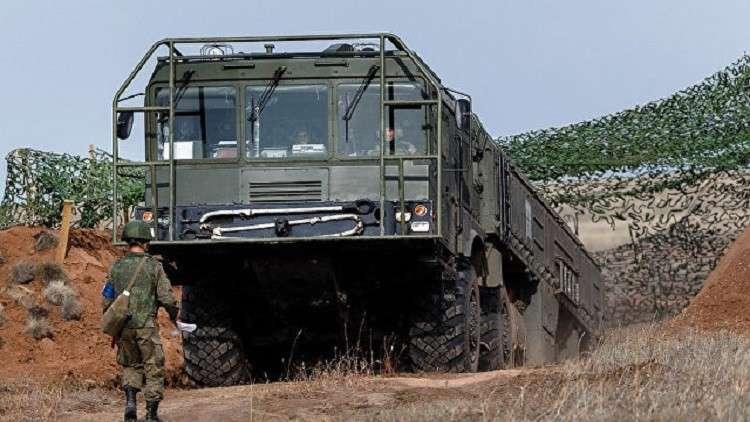 """عملية تحديث لمنظومة """"إسكندر"""" الصاروخية الروسية"""