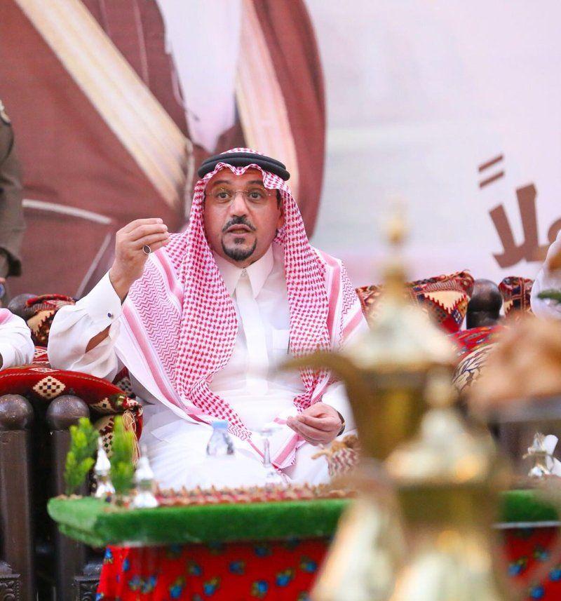 """الدكتور فيصل بن مشعل يزور مهرجان تمور بريدة ويدشن منتجع """"ديرتي"""" الريفي"""