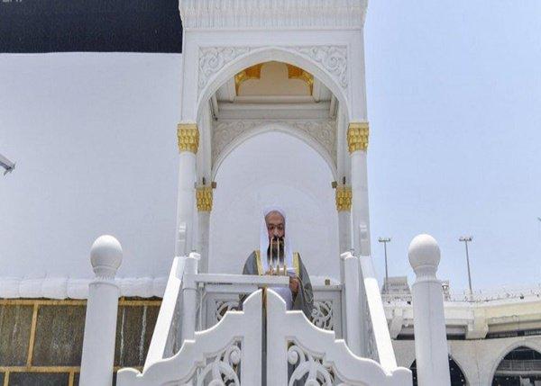 إمام وخطيب المسجد الحرام يوضح خلال خطبة الجمعة كيفية استثمار العشر الأول من ذي الحجة